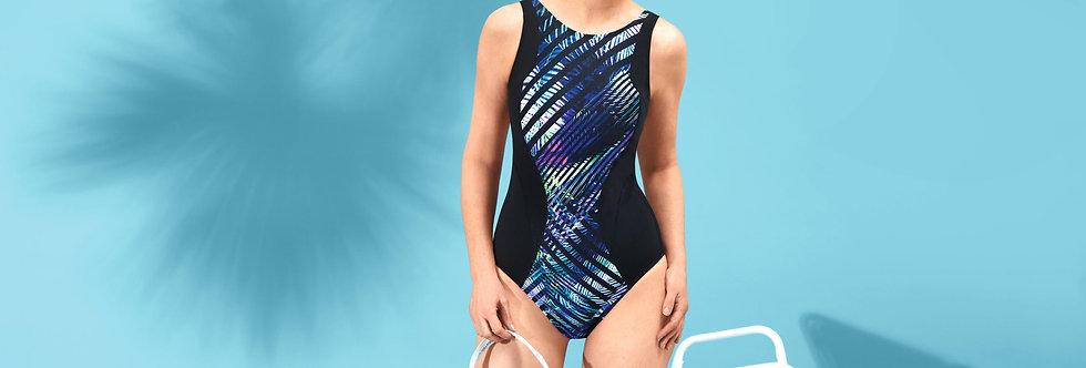 Amoena Toronto One-Piece High Neckline Mastectomy Swimsuit 71390