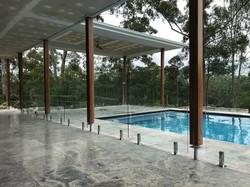 mooloolah Valley glass pool fence