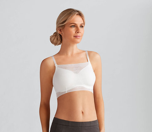 Amoena Amber Camisole Add On Accessory Top White 44268