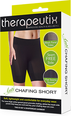 Therapeutix Anti Chaffing Short Black