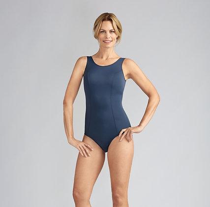Amoena Rhodes One Piece Mastectomy Swimsuit Dark Blue 70842