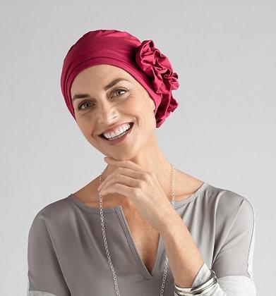 Amoena Marigold Headscarf Berry Red 43813