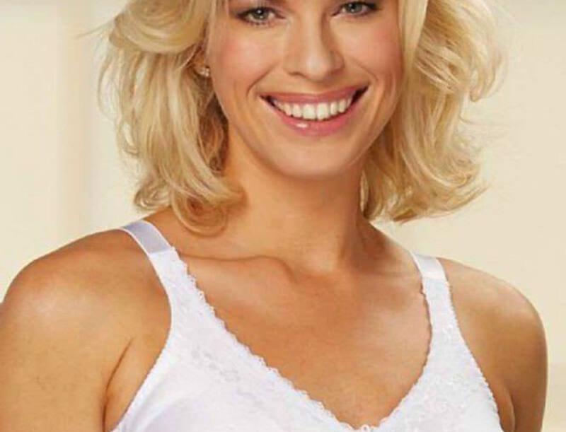 Trulife Barbara Non Underwire Mastectomy Bra White 210