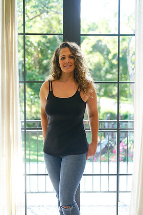Sonya Mastectomy Singlet With Built In Bra Shelf
