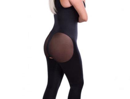 Lipoelastic VD Body BBC Post Surgical Compression Garment Black/Natural