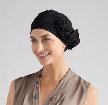 Amoena Marigold Headscarf Black 43812