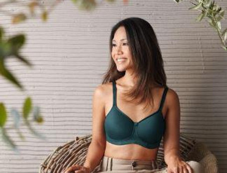 Amoena Mara Non Underwire Soft Padded Mastectomy Bra Jade 44686
