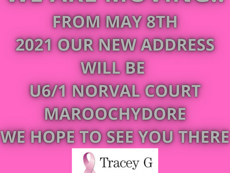 Tracey G Prosthetics and Lingerie Are Moving