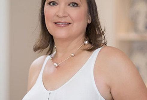 ABC Contour T-back Non Underwire Front Opening Mastectomy Bra White 133