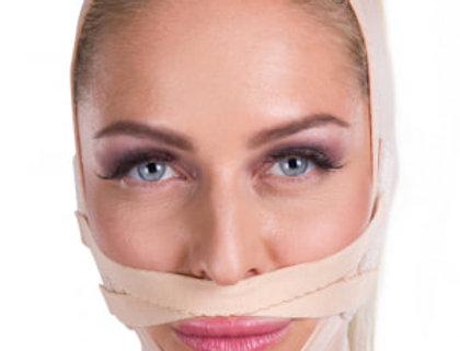 Lipoelastic FM lip lift Velcro fastener Post Surgical Compression Garment