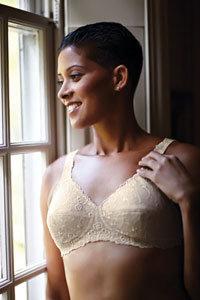 ABC Non Underwired Mastectomy Bra 504 Dream Lace Beige