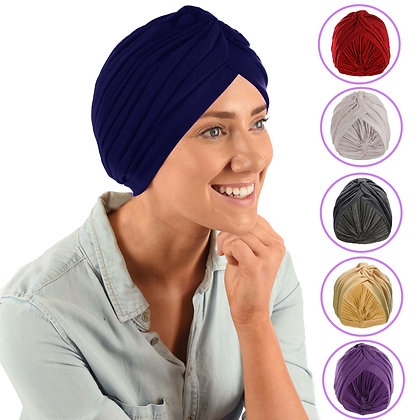 Jersey Classic Style Turban Beige Only