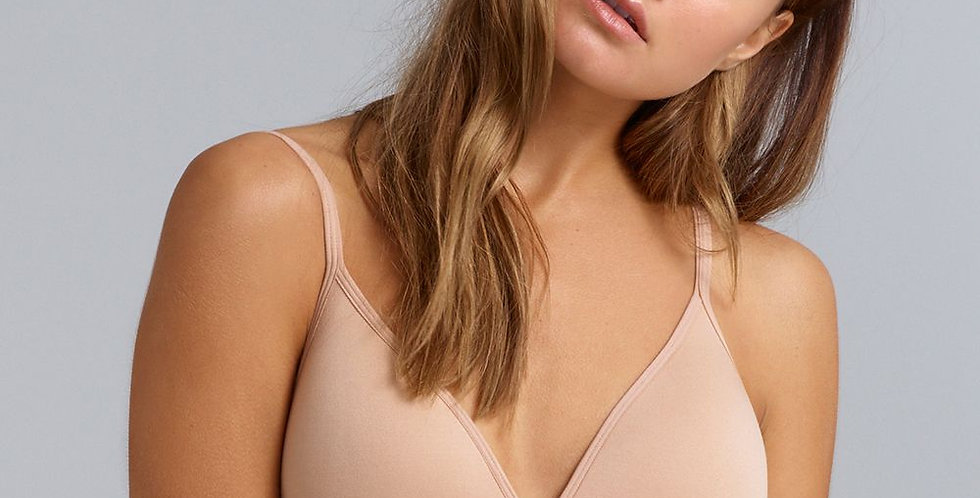 Ambra Seamless Wirefree bra nude (non pocketed)