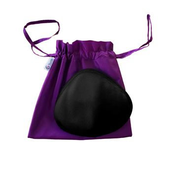Trulife Activeflow Triangle External Breast Prosthesis Black 630B.