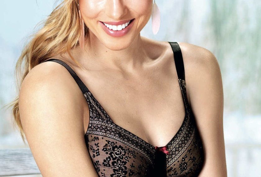 Anita Fleur Soft Cup Mastectomy Bra - Black 5754X