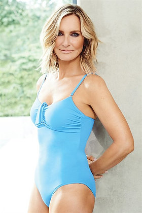 Melissa Odabash Danielle Swimsuit - Blue or Black 8-12