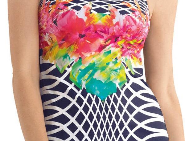 Amoena Dominica Mastectomy Swimsuit - Tankini Top 71212 10C, 12C