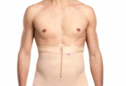 Lipoelastic VHmS comfort Male pant Post Surgical Compression Garment