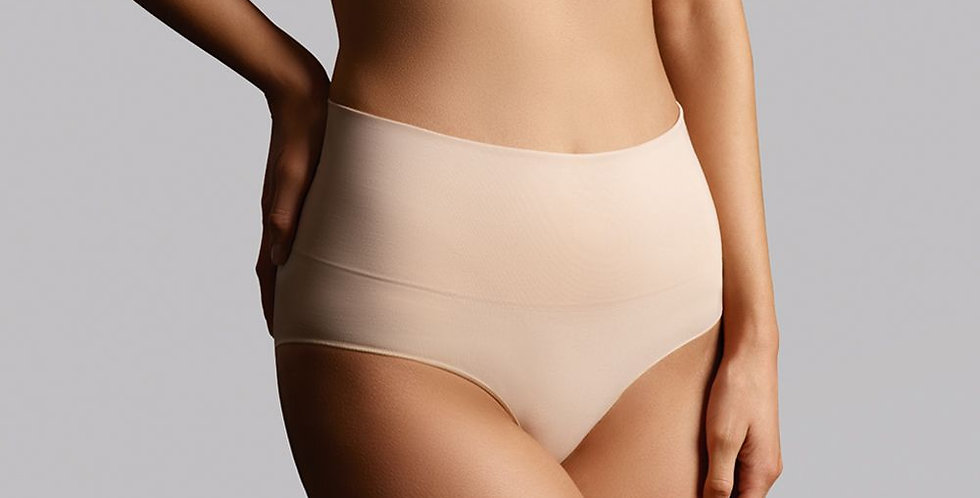 Ambra Seamless Smoothies Full Brief Rose Beige 2pk AMSHSSFB2P