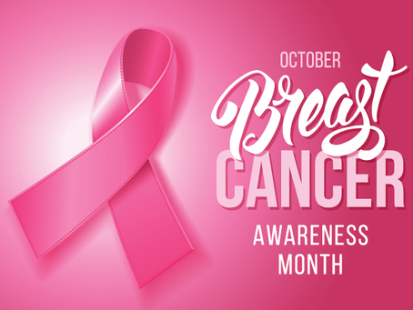 October 2020 is Breast Cancer Awareness Month