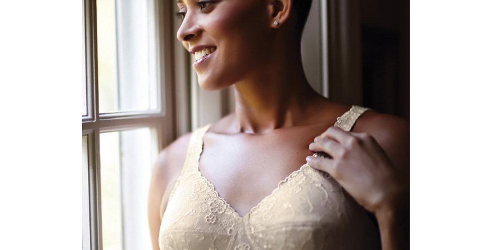 ABC Dream Lace Soft Cup Mastectomy Bra - Beige 504