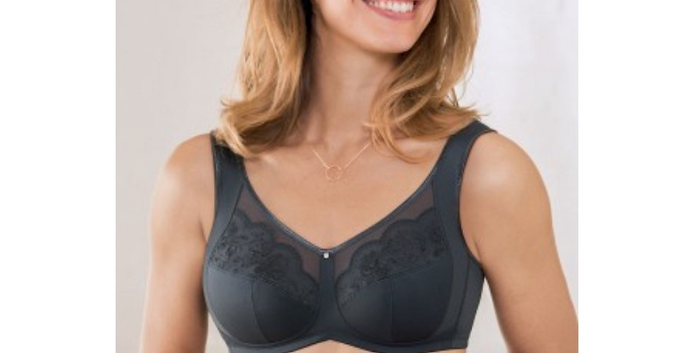 Anita Amica Non Underwired Mastectomy Bra Anthracite 5764x