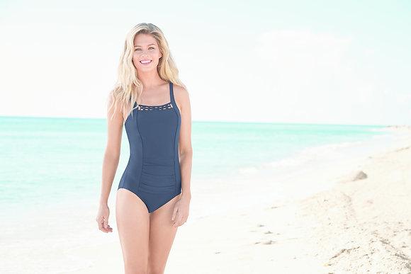 Amoena Bogota One-Piece Swimsuit Dark Blue 71066