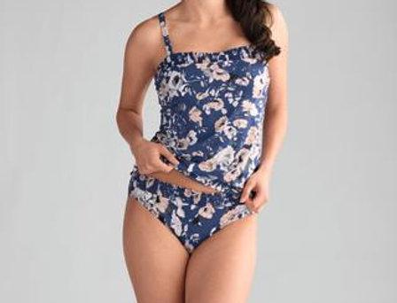 Amoena Venice Non UW Mastectomy Tankini SET Marlin Blue / Rose 71242/71244 size