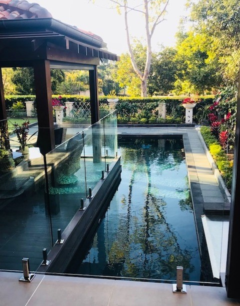Noosa heads Glass Pool Fence
