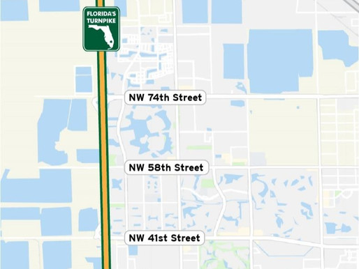 TyBot Helps Florida's Turnpike Opening