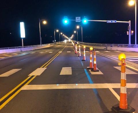 Completed Homestead Grays Bridge