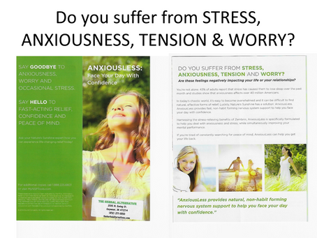 Stress, Anxious, Tension & Worry