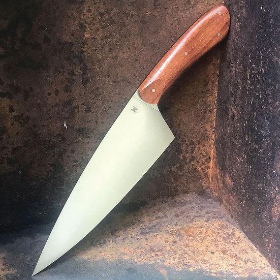 """8"""" Chef Knife - NC Battleship Teak"""