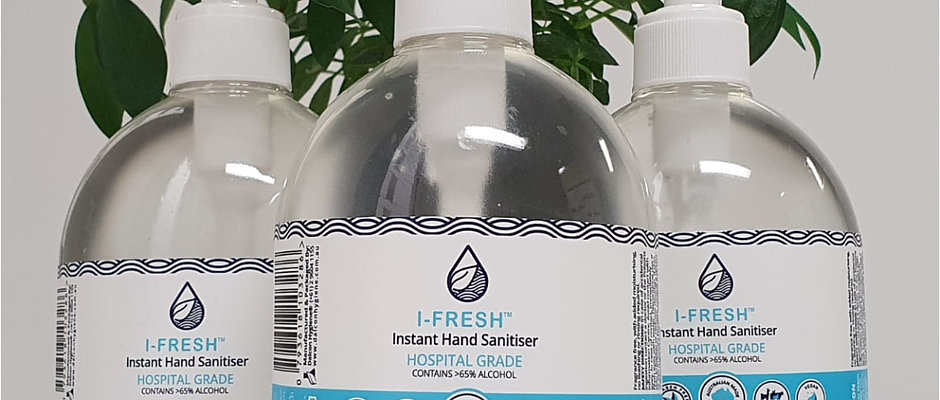 Hospital Grade Instant Hand Sanitiser 500ml