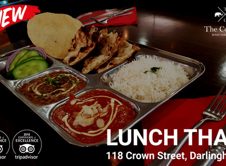 The Tastiest Indian Lunch Thali is Here. Find the Best Indian Thali at The Colonial British Indian R