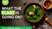 What the PLANT is going on? New Indian Vegan dishes 'Protesting' at The Colonial Indian Restaurant