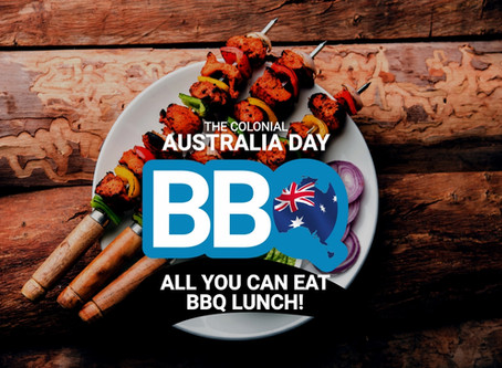 Australia Day 2020 Indian BBQ Kebabs All You Can Eat Lunch @TheColonialDarlinghurst!