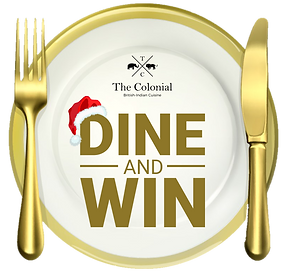 dine and win icon - the colonial british