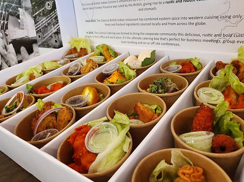 Indian Catering Cups & Canapes by The Colonial British Indian Cuisine Restaurant