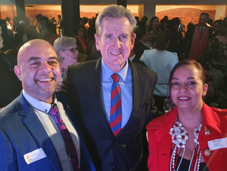 The Colonial British Indian Cuisine meets with the Hon. Barry O'Farrell and SBS Radio Producer Kumud