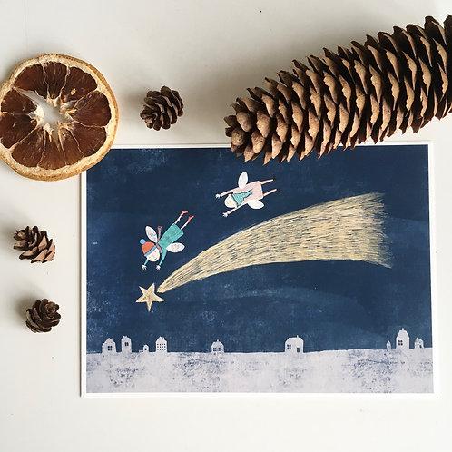 The star of Bethlehem - art print