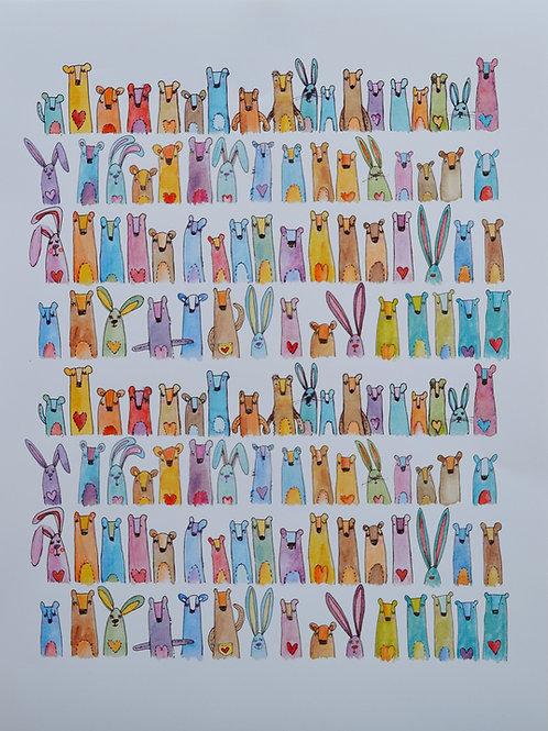 Rainbow Mimice, poster