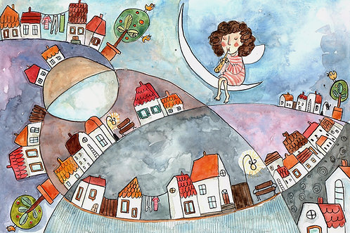 """lullaby"" - original illustration"