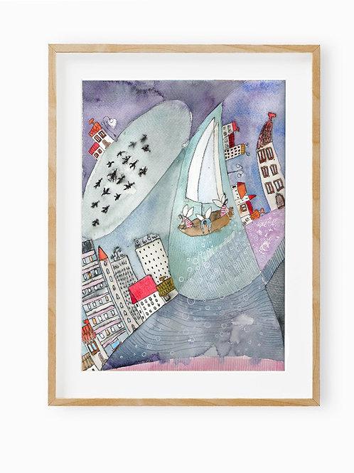 Dreams, poster 30 x 40 cm
