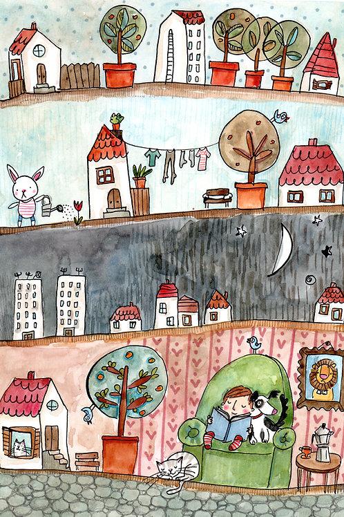 original illustration