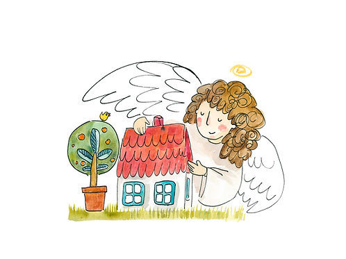 Angel - guardian of your home