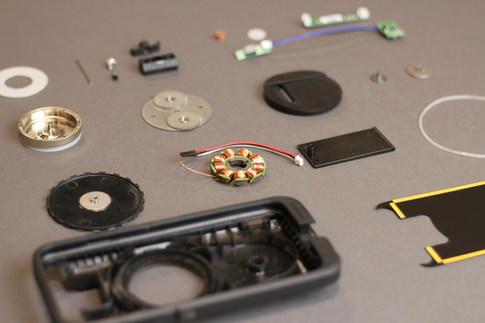 AMPware part layout