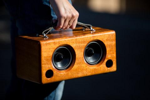 Boom Wood Box