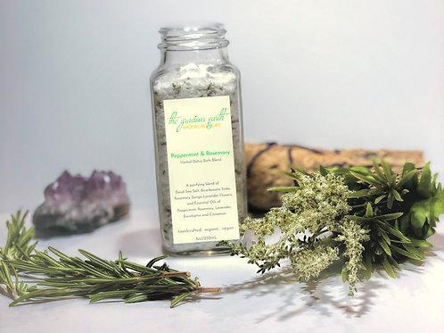 Peppermint & Rosemary Herbal Detox Bath Blend