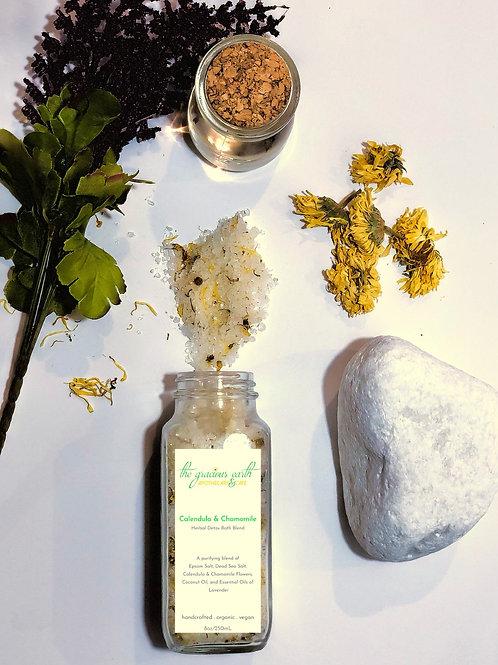 Calendula & Chamomile Herbal Detox Bath Blend